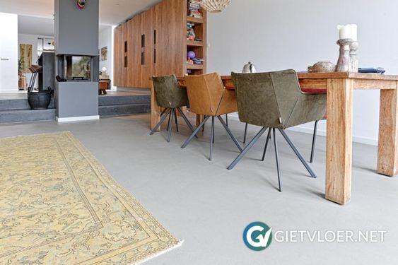 opties betonlook vloer